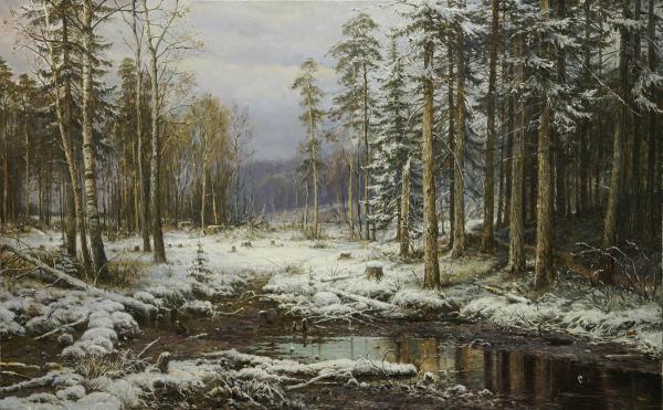 Владимир Александров. Первый снег
