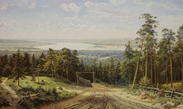 Владимир Александров. Кама близ Елабуги