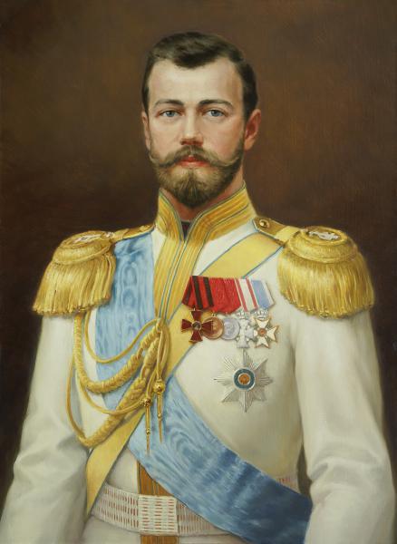 Владимир Александров. Император Николай II.