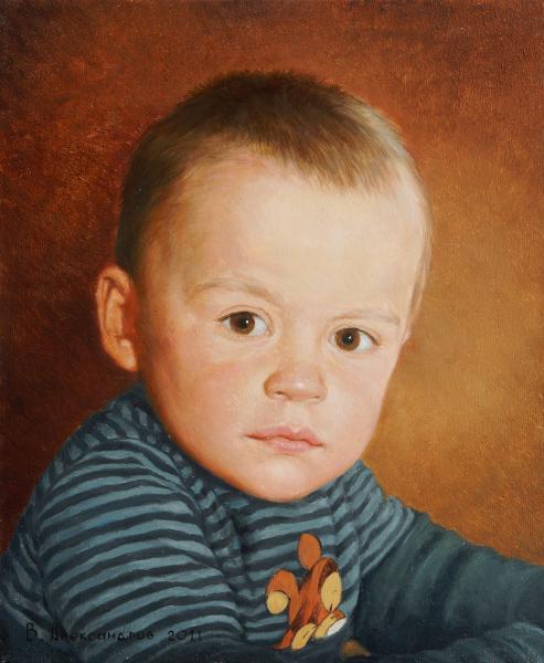 Владимир Александров. Детский портрет