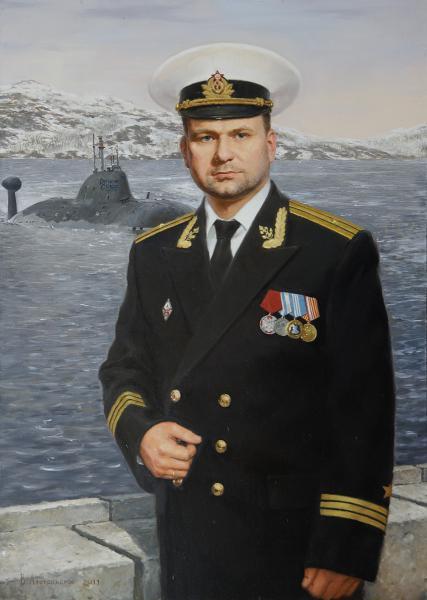 Владимир Александров. Портрет капитана 3-го ранга