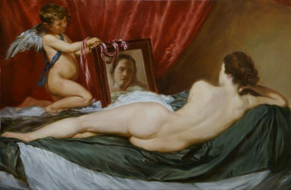 Владимир Александров. Венера перед зеркалом
