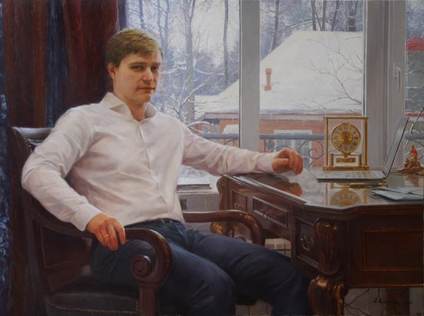 Владимир Александров.  Портрет молодого человека