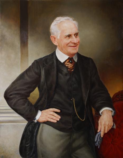 Владимир Александров. Портрет мужчины в костюме 19-го века
