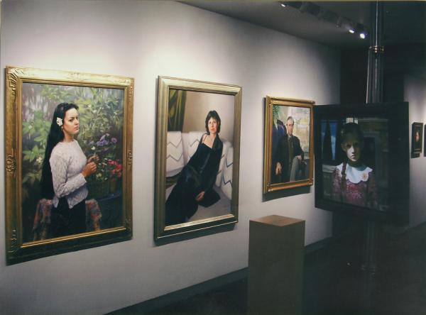 Владимир Александров. Галерея портретов. Санта Фе. США.