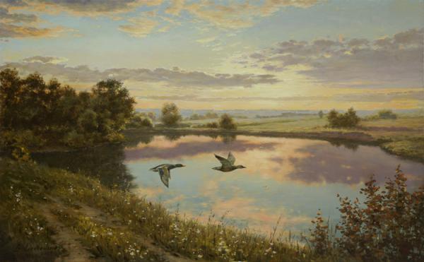 Владимир Александров. У озера
