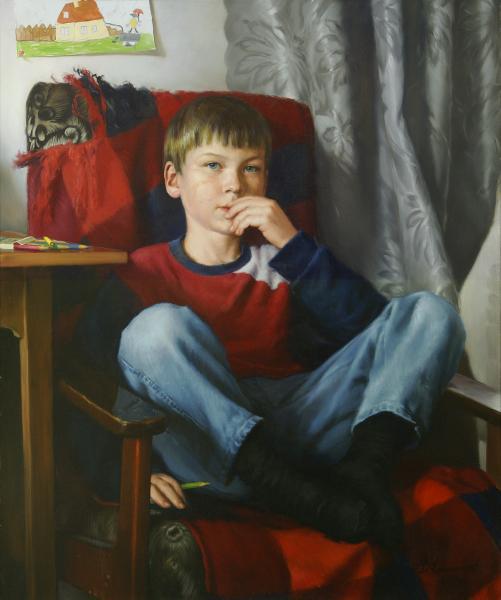 Владимир Александров. Витин портрет