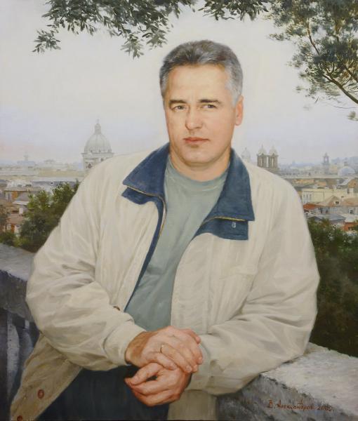 Владимир Александров. В Италии.