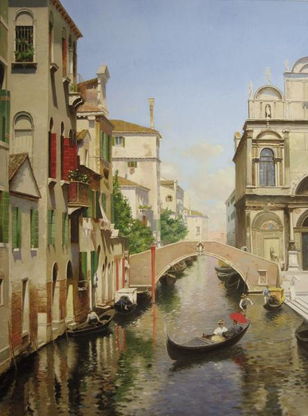 Владимир Александров. Венецианский канал.